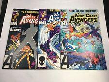 West Coast Avengers # 2 3 4 Marvel Comics 1984 Iron Man Hawkeye VF-