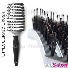 netSalon Pro Curved Vented Styling Hair Brush Detangling Vent Massage Blow Dry