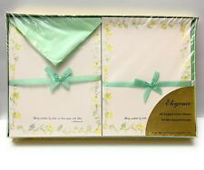 Vintage Warner Press Bible Text Stationery Religious Boxed Set - NEW SEALED