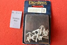 Games Workshop Lord of the Rings Moria Armoured Goblin Archers LoTR Metal BNIB