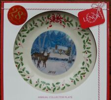 Lenox 2018 Annual Holiday Collector Plate - Brand New in Gift Box