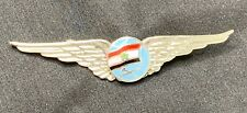 Vintage Egyptian Air Force Pilot Wings