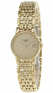 LONGINES La Grande Classique Gold Dial Bracelet Women's Watch L51322305