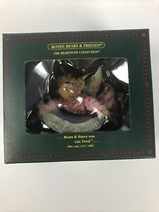 NIB Boyds The Bearstone Collection Tranquility Angel Certified By GM Lowenthal