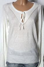 ESPRIT Pullover Gr. M weich creme-weiß Langarm Damen Pullover mit Kaschmir