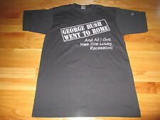 """1990-1991 """"The Anywhere But America"""" GEORGE BUSH Tour (MED) T-Shirt"""
