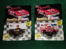 2 Vintage 1/64 Scale NASCAR Diecast - Bobby Hillin Jr. & Chad Little