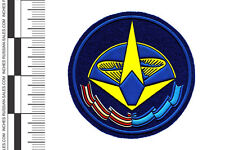 ORIGINAL MILITARY RUSSIAN SLEEVE PATCH COSMODROME PLESETSK SPACE CENTRE INSIGNIA