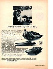 1968 BUICK CENTURY CRUISER EXPERIMENTAL  ~  RARE ORIGINAL GENERAL MOTORS AD
