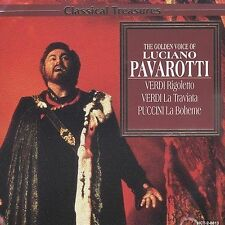 The Golden Voice of Luciano Pavarotti (CD, Sep-1997, Madacy Distribution)