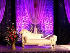 Damask Photography Backdrop 20ft x 10ft Background Curtain Drape Panel Photo