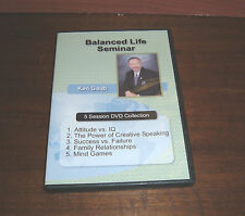 "Ken Gaub's ""Balanced Life Seminar"" (5 Session Collection on One DVD)"