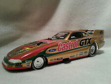 Action John Force 1998 Gold Mustang 7 Time Champ Funny Car 1:24