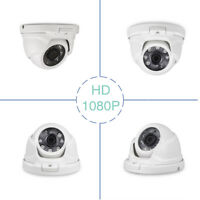Tonton FULL HD 1080P Dome Camera 3.6mm 80ft Wired CCTV Security Home Wide Angle