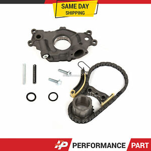 Timing Chain Kit Oil Pump Fit 07-16 Chevrolet Cadillac Buick GMC 5.3 6.0 6.2