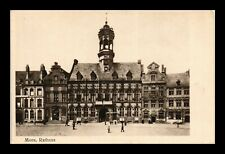 DR JIM STAMPS CITY HALL MONS BELGIUM STREET VIEW POSTCARD