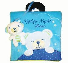 Nighty Night Bear Cloth Book, NEW