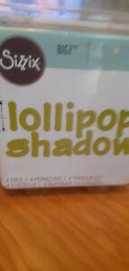 "Sizzix ""Lollipop Shadow Lwrcs Ltrs"" Alphabet Set 4 Bigz Dies by E.L. Smith"