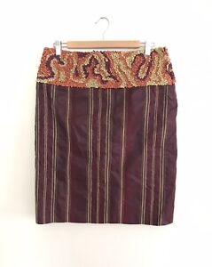 Etro Silk Skirt, 44.