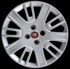 "Fiat Doblo 2006 Kit 4 Copricerchi coppa ruota 15"" logo rosso cod. 1276LR"
