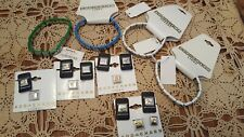 NEW 11 Add A Charms Links, 1 Used &   4  NEW Charm Bracelets Lot Gifts Craft