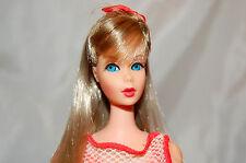 Spectacular Vintage Summer Sand Twist 'N Turn Barbie Doll  Original BOW TNT EXC.