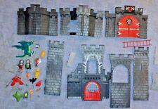PLAYMOBIL CASTLE PARTS, ACCESSORIES & MINI FIGURES - AS PICTURED