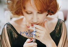 Nathalie Baye AUTOGRAFO SIGNED 20x30 cm immagine