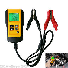 Digital LCD 12V Car Battery Tester Automotive Battery Load Tester And Analyzer