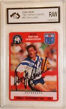 1991 Stimorol IP Signed Terry Lamb with COA