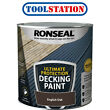 Ronseal Ultimate Protection Decking Paint 2.5L English Oak