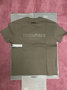 Fear of God FOG Essentials T-shirt - Harvest - Size Medium