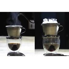 Hot/Cold Coffee Maker Drip Brewing Pot Coffee Filter Dripper Stainless Steel
