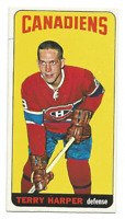 1964-65 Topps Tall Boys #3 Terry Harper Montreal Canadiens
