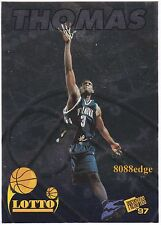 1997 PRESS PASS BASKETBALL LOTTO: TIM THOMAS #NNO VILLANOVA/SIXERS ROOKIE