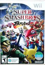 Super Smash Bros. Brawl (Nintendo Wii, 2008) World Edition