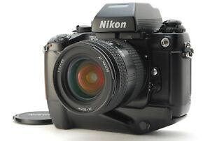 EXC+++++/ Nikon F4S + AF NIKKOR 24-50mm F3.3-4.5 Film Camera from Japan #1264