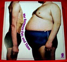 Harvey Matusow's Jews Harp Band War Between Fats And Thins LP UK ORIG 1969 VINYL