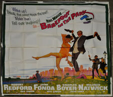 BAREFOOT IN THE PARK 1967 81X81 6-SHEET MOVIE POSTER ROBERT REDFORD JANE FONDA