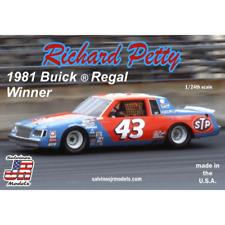 Salvinos J R Rpb1981d 1/24 Richard Petty No.43 Buick Regal 1981 Winner Plastic M