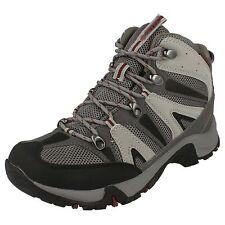 Mens Hi-Tec Waterproof Hiking BOOTS Size UK 7 - 13 Walking Black Condor Aus 7