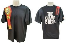 NIKE Sportswear NSW 'THE CHAMP IS HERE' Cotton T Shirt Black M