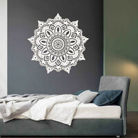 Mandala Flower Bedroom Family Vintage Wall Decal Art Stickers Mural Home Vinyl