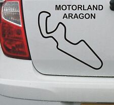 Motorland Aragon #1 Spanish race circuit vinyl decal sticker graphic - DEC1076