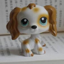 "IN HAND LPS LITTLEST PET SHOP MINI 2"" FIGURE TOY cream Cocker Spaniels Dog #"