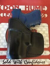 Don Hume H724 No. 36-1 Black leather OWB Holster For Glock 26 27