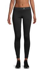 6a7e8b3316ab76 Adidas By Stella McCartney Womens Black Stretch Logo Active Leggings Sz XS  8121