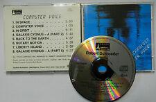CD  Robert Schroeder  –  Computer Voice GERMANY 1987