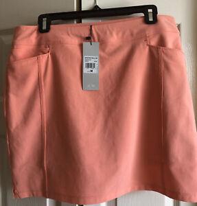 Adidas Womens Apricot Skorts Size M NWT