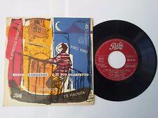 """RARO EP 7"""" 45 giri RENATO CAROSONE Quartetto GUAGLIONE SPINGOLE VINO Italy 1957"""